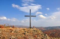 Paesaggio nella montagna di Rhodope Immagine Stock