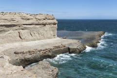 Paesaggio nella penisola di Valdes immagine stock libera da diritti