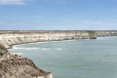 Paesaggio nella penisola di Valdes fotografie stock libere da diritti