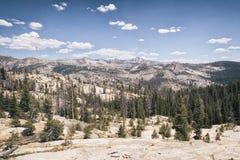 Paesaggio nella sierra Nevada Mountains Fotografie Stock