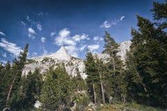 Paesaggio nella sierra Nevada Mountains Fotografia Stock Libera da Diritti