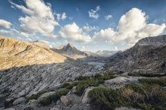 Paesaggio nella sierra Nevada Mountains Immagine Stock