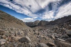 Paesaggio nella sierra Nevada Mountains Immagine Stock Libera da Diritti