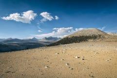 Paesaggio nella sierra Nevada Mountains Immagini Stock