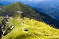 Paesaggio nella Transilvania, Romania Immagini Stock