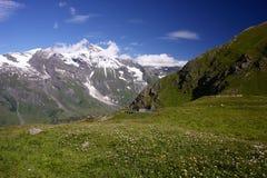 Paesaggio nelle alpi, Austria Fotografie Stock