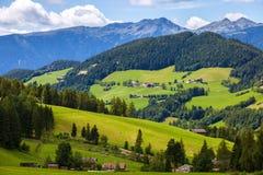 Paesaggio nelle alpi della dolomia Fotografie Stock