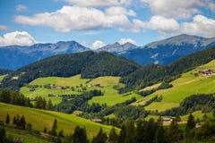 Paesaggio nelle alpi della dolomia Immagine Stock Libera da Diritti