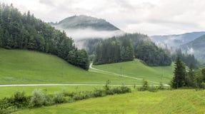 Paesaggio nelle alpi della Slovenia Immagine Stock Libera da Diritti