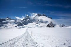 Paesaggio nelle alpi di Swizz Immagine Stock Libera da Diritti