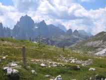 Paesaggio nelle alpi - immagine di riserva Fotografie Stock Libere da Diritti