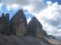 Paesaggio nelle alpi - immagine di riserva Immagini Stock