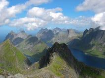 Paesaggio nelle isole di Lofoten Fotografie Stock