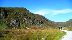 Paesaggio nelle montagne immagine stock