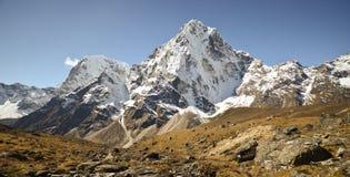 Paesaggio Nepal dell'Himalaya Immagini Stock Libere da Diritti