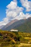 Paesaggio nepalese Immagini Stock