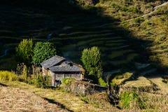 Paesaggio nepalese Fotografia Stock Libera da Diritti