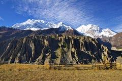 Paesaggio nepalese pittoresco Fotografia Stock Libera da Diritti