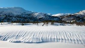 Paesaggio norvegese Immagini Stock Libere da Diritti