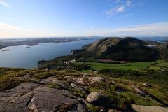 Paesaggio norvegese Immagini Stock