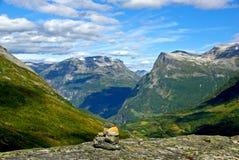 Paesaggio norvegese Immagine Stock