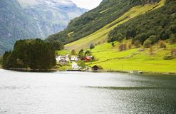 Paesaggio in Norvegia Fotografia Stock