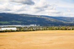 Paesaggio in Norvegia Immagini Stock Libere da Diritti