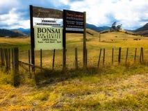 Paesaggio in Nuova Zelanda Fotografia Stock Libera da Diritti