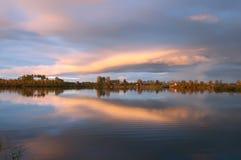 Paesaggio nuvoloso Fotografia Stock Libera da Diritti