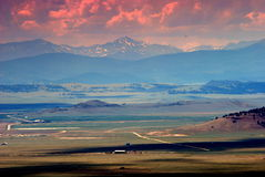 Paesaggio occidentale U.S.A. Fotografie Stock Libere da Diritti