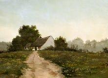 Paesaggio olandese Fotografia Stock