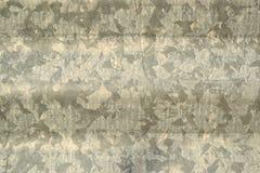 Paesaggio ondulato del fondo del metallo Fotografia Stock Libera da Diritti