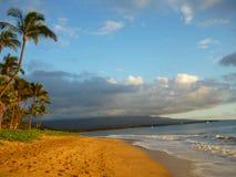 Paesaggio pacifico della spiaggia Immagini Stock