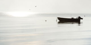 Paesaggio pacifico di mattina Fotografia Stock Libera da Diritti