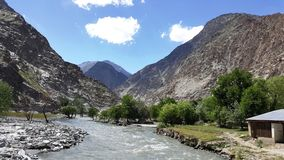 Paesaggio Pakistan fotografia stock libera da diritti