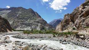 Paesaggio Pakistan Fotografia Stock