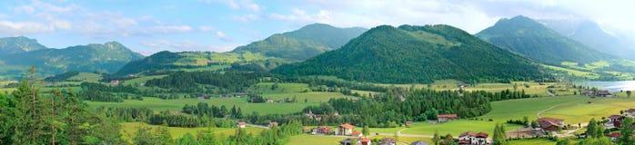 Paesaggio panoramico della montagna Fotografia Stock Libera da Diritti