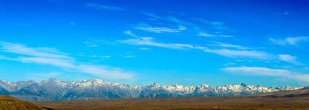 Paesaggio panoramico della montagna Immagine Stock Libera da Diritti