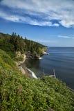 Paesaggio in Parc Forrillon, Canada Fotografia Stock Libera da Diritti