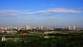 Paesaggio Pechino Fotografia Stock Libera da Diritti