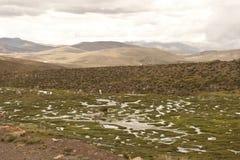 Paesaggio peruviano Fotografie Stock