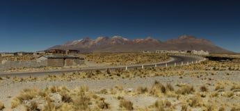 Paesaggio peruviano, linee principali, Perù Immagine Stock