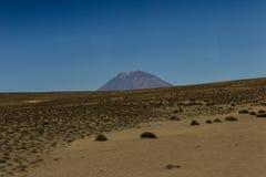 Paesaggio peruviano, Perù Fotografia Stock