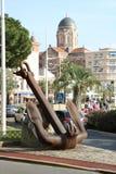 """Paesaggio piacevole sul  del coast†del """"blue in Francia, Frejus, Raphael del san Immagini Stock Libere da Diritti"""