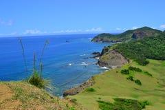 Paesaggio pittoresco del mare Fotografie Stock Libere da Diritti