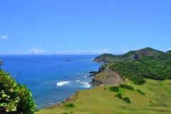 Paesaggio pittoresco del mare Immagini Stock