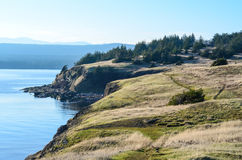 Paesaggio pittoresco del parco provinciale di Helliwell Fotografie Stock