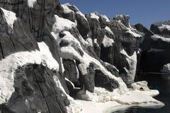 Paesaggio polare Fotografia Stock