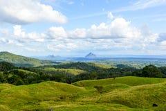 Paesaggio Queensland della montagna Fotografia Stock