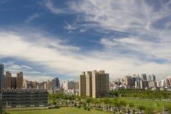 Paesaggio regionale alla città di kaohsiung Taiwan Immagini Stock